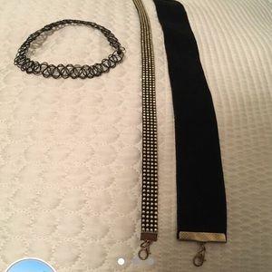 Jewelry - 3 chokers